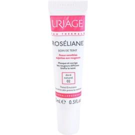 Uriage Roséliane loción con color para pieles sensibles con tendencia a las rojeces tono 02 Doré Naturel  15 ml