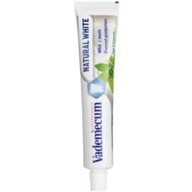 Vademecum Natural White fehérítő fogkrém íz Sage/Camomile 75 ml