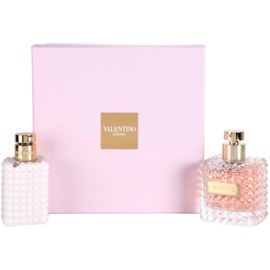 Valentino Donna Gift Set  I.  Eau de Parfum 100 ml + Body Lotion  100 ml