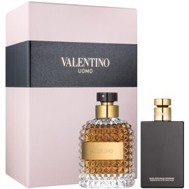 Valentino Uomo set cadou I.  Apa de Toaleta 100 ml + After Shave Balsam 100 ml