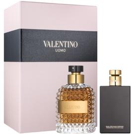 Valentino Uomo set cadou I.  Apa de Toaleta 100 ml + After Shave Balsam 100 ml