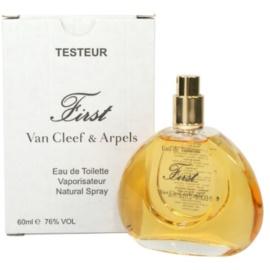 Van Cleef & Arpels First woda toaletowa tester dla kobiet 60 ml