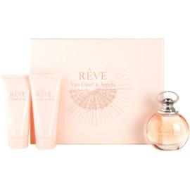 Van Cleef & Arpels Reve подаръчен комплект I. парфюмна вода 100 ml + мляко за тяло 100 ml + душ гел 100 ml