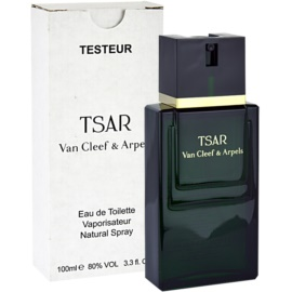 Van Cleef & Arpels Tsar eau de toilette teszter férfiaknak 100 ml