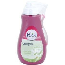 Veet Depilatory Cream feuchtigkeitsspendende Depilationscreme für trockene Haut  400 ml
