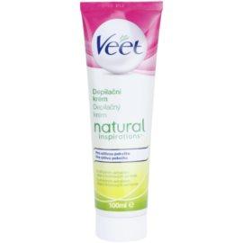 Veet Natural Inspirations crema depilatoare pentru piele sensibila  100 ml