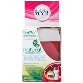 Veet Natural Inspirations refil de substituição de cera para pele sensível  50 ml
