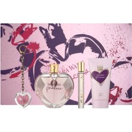 Vera Wang Princess Geschenkset III. Eau de Toilette 100 ml + Eau de Toilette 10 ml + Körperlotion 75 ml + Lipgloss 2 g