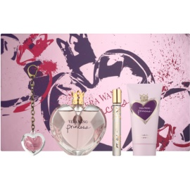 Vera Wang Princess Gift Set III  Eau De Toilette 100 ml + Eau De Toilette 10 ml + Body Milk 75 ml + Lip Gloss 2 g