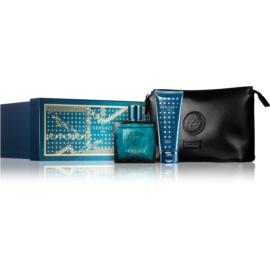 Versace Eros Gift Set II. Eau De Toilette 100 ml + Shower Gel 100 ml + Cosmetic Bag