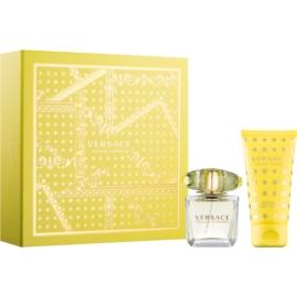 Versace Yellow Diamond подарунковий набір II. Молочко для тіла 50 ml + Туалетна вода 30 ml