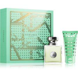 Versace Versense ajándékszett XXII.   Eau de Toilette 30 ml + testápoló tej 50 ml