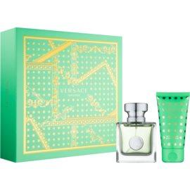 Versace Versense подарунковий набір ХХІІ  Туалетна вода 30 ml + Молочко для тіла 50 ml