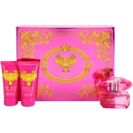 Versace Bright Crystal Absolu set cadou VII. Eau de Parfum 50 ml + crema de dus 50 ml + Lotiune de corp 50 ml