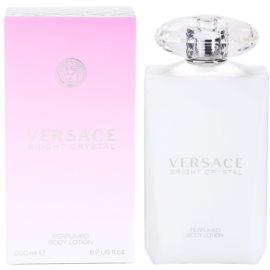 Versace Bright Crystal tělové mléko pro ženy 200 ml