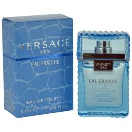 Versace Eau Fraîche Man Eau de Toilette para homens 5 ml sem vaporizador