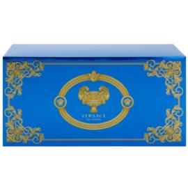 Versace Man Eau Fraîche подаръчен комплект XVI. тоалетна вода 100 ml + душ гел 100 ml + козметична чанта 23 x 11 x 10 cm