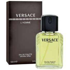 Versace L´Homme Eau de Toilette für Herren 100 ml