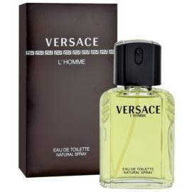 Versace L´Homme Eau de Toilette für Herren 50 ml