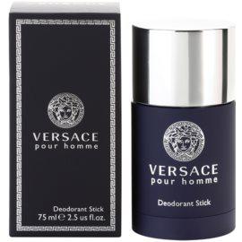 Versace pour Homme desodorizante em stick para homens 75 ml