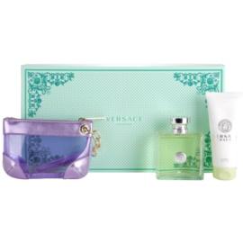 Versace Versense подарунковий набір V  Туалетна вода 100 ml + Молочко для тіла 100 ml + сумочка