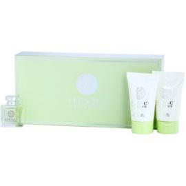 Versace Versense lote de regalo II. eau de toilette 5 ml + gel de ducha 25 ml + leche corporal 25 ml