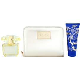 Versace Yellow Diamond Intense coffret IV.  Eau de Parfum 90 ml + leite corporal 100 ml + bolsa