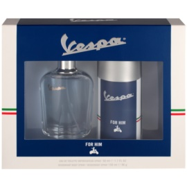 Vespa For Him Geschenkset II. Eau de Toilette 50 ml + Deo-Spray 150 ml