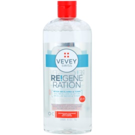 Vevey Swiss Re!generation micelární voda a tonikum 2 v 1  300 ml