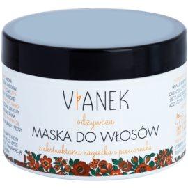 Vianek Nutritious regenerační maska na vlasy s vyživujícím účinkem s extraktem z měsíčku lékařského  150 ml