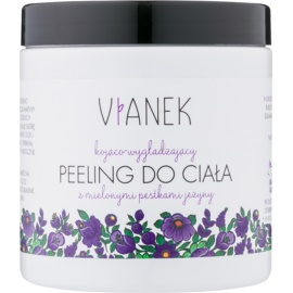 Vianek Soothing Body Scrub With Sugar With Smoothing Effect with crashed blackberry seeds  250 ml