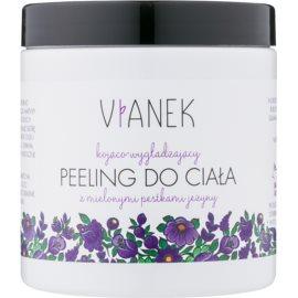 Vianek Soothing Hautpeeling mit Zucker mit glättender Wirkung mit gemahlenen Brombeersamen  250 ml