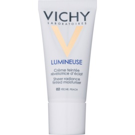 Vichy Lumineuse Brightening Tinted Moisturizer for Normal and Combination Skin Shade 02 Peach/Peache  30 ml