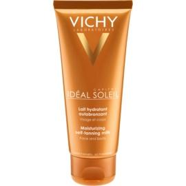 Vichy Idéal Soleil Capital lotiune hidratanta pentru bronzare pentru fata si corp  100 ml