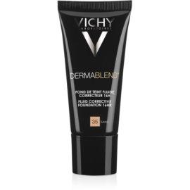 Vichy Dermablend korekčný make-up SPF 35  odtieň 35 Sand  30 ml