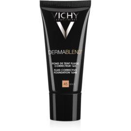 Vichy Dermablend korekčný make-up SPF 35  odtieň 45 Gold  30 ml