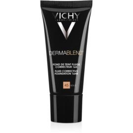 Vichy Dermablend prebase de maquillaje correctora con factor de protección solar UV tono 45 Gold  30 ml