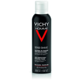 Vichy Homme Anti-Irritation Rasierschaum für empfindliche und irritierte Haut  200 ml