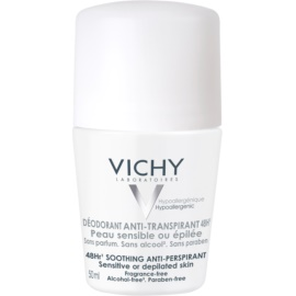 Vichy Deodorant Roll-On Deodorant  For Sensitive And Irritated Skin  50 g