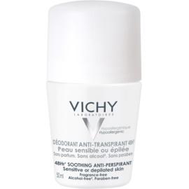 Vichy Deodorant Roll-On Deodorant für empfindliche und gereizte Haut  50 g