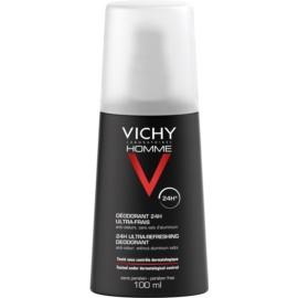 Vichy Homme Deodorant Deodorant Spray gegen übermäßiges Schwitzen  100 ml