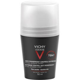 Vichy Homme Deodorant roll-on antibacteriano contra suor excessivo 72h  50 ml