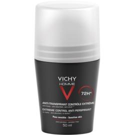 Vichy Homme Deodorant Antitranspirant Roll-On tegen Overmatig Transpireren 72h  50 ml