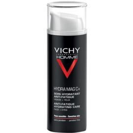 Vichy Homme Hydra-Mag C vlažilna nega proti znakom utrujenosti za obraz in predel okoli oči  50 ml
