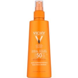 Vichy Idéal Soleil Capital Beschermende Spray met Hydraterende Werking  SPF50+  200 ml
