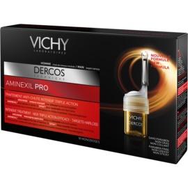 Vichy Dercos Aminexil PRO intenzivní kúra proti padání vlasů pro muže  18x6 ml
