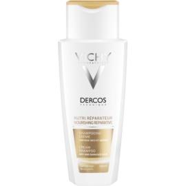 Vichy Dercos Nutri Reparateur hranilni šampon za suhe in poškodovane lase  200 ml
