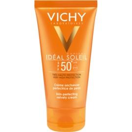 Vichy Idéal Soleil Capital crema protectoare pentru ten catifelat SPF 50+  50 ml