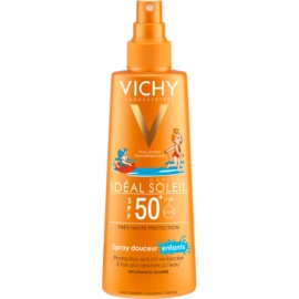 Vichy Idéal Soleil Capital něžno zaščitno pršilo za otroke SPF 50+  200 ml