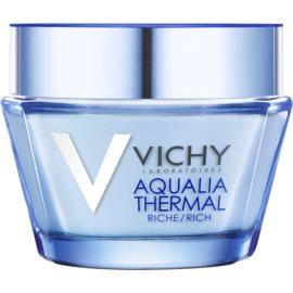 Vichy Aqualia Thermal Rich crema de día hidratante nutritiva para pieles secas y muy secas  50 ml
